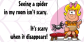 Funny Spider Quote