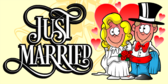 Funny Just Married Banner