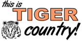 Tiger Country Banner