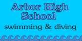 Swimming Team Banner