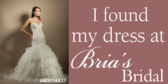 Trade Show Label Wedding Dress