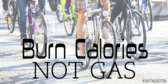 Trade Show Label Bicycle Burn Calories