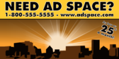 Need AD Space?