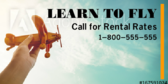 Learn To Fly Rental