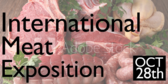 Trade Show Label International Meat Expo