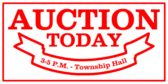 Auction Today Township Hall
