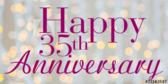 Happy 35th Anniversary!