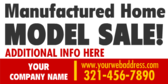 Manufactured Home Model Sale Red