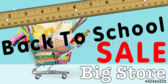 Back to School Sale Ruler