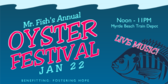 Mr. Fish Annual Oyster Festival