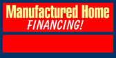 Manufactured Home Financing Red