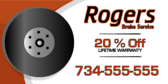 Rogers Brake Service