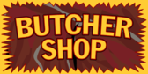Butcher Shop Banner