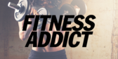 Trade Show Label Fitness Addict