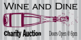 Charity Auctions Sign