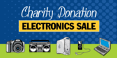 Charity Electronics Sale