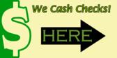 check cashing signs