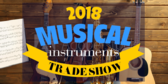 Trade Show Label Musical Instruments