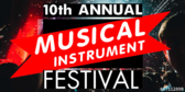 Trade Show Label Musical Instruments Festival
