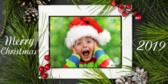 Photo Frame Santa