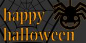 Happy Halloween (Goblin Spider)