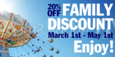 Amusement Park Family Discount