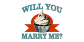 Will You Marry Cupcake Banner