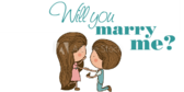 Will You Marry Me Dog Banner