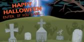 Happy Halloween (Cemetery)
