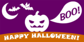 Happy Halloween! (Boo!)