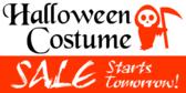 Halloween Costume Sale #2