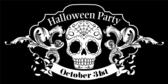 Halloween Party (Skull)