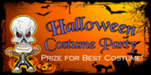 Costume Party Banner