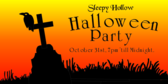 Halloween Grave Party