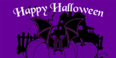 Happy Halloween (Bat)