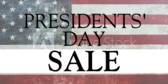 Presidents' Day Sale #23