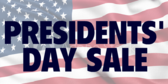 Presidents' Day Sale #17