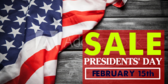Presidents' Day Sale #16