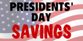 Presidents' Day Sale #10