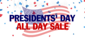 Presidents' Day Sale #8