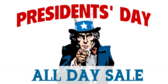 Presidents' Day Sale #7