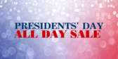 Presidents' Day Sale #6