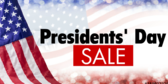 Presidents' Day Sale #5