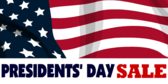 Presidents' Day Sale #1