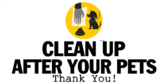Clean Up After Your Pets