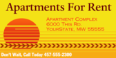 Apartments for Rent #4