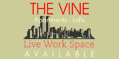 Apartments for Rent (Live Work Space)