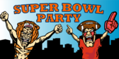 Super Bowl Party (Fans)