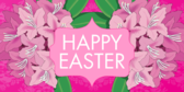 Easter Bouquet Banner