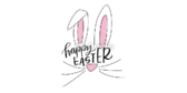 Easter Pink Background Banner